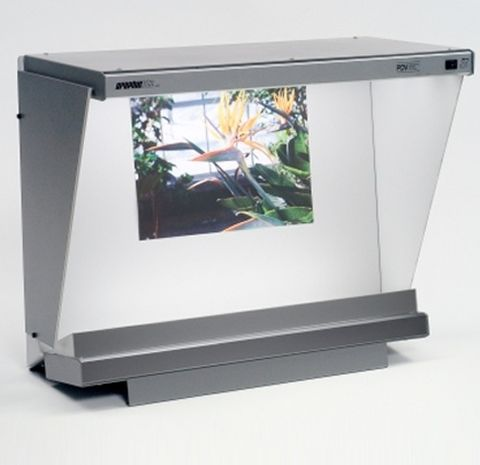 Gti Pdv-2020e/Dx Desktop Viewer With Side Walls