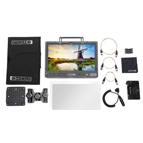 SmallHD 1303 HDR Production AB-Mount Monitor Bundle