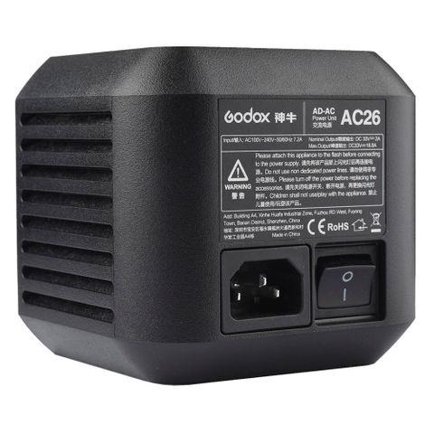 Godox AD600PRO AC26 AC Power Adaptor