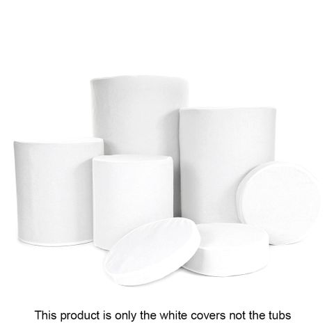 Lastolite White Removable/Washable Covers For Tubs