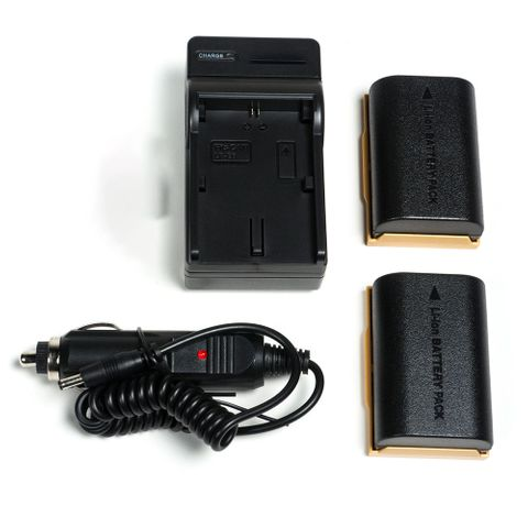 SmallHD LP-E6 Charger and Battery Kit
