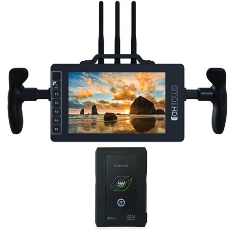 SmallHD 703 Bolt V-Mount Directors Bundle Including Core NEO 98 Slim V-Mount Battery