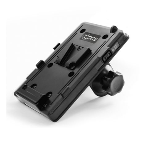 Core SWX V-Mount Plate with Monopod Clamp & P-Tap