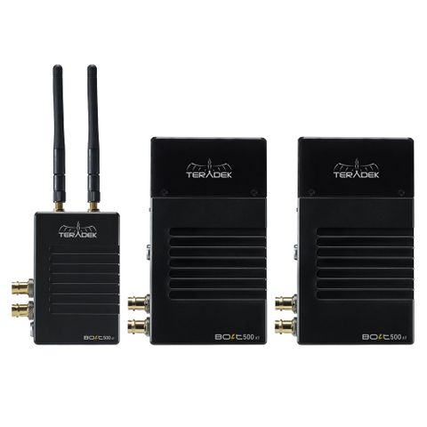 Teradek Bolt XT 500 SDI/HDMI Wireless TX/2RX