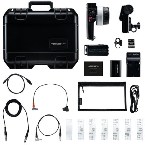 Teradek RT CTRL.1 1-Axis Superspeed Wireless Lens Control Kit with Lens Mapping - Metric
