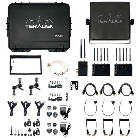 Teradek Bolt XT 3000 SDI/HDMI TX/2RX Deluxe Kit AB-Mount