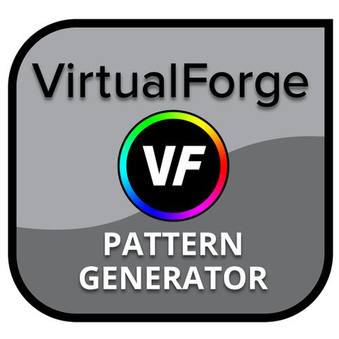 Spectracal Virtual Forge Software Pattern Generator
