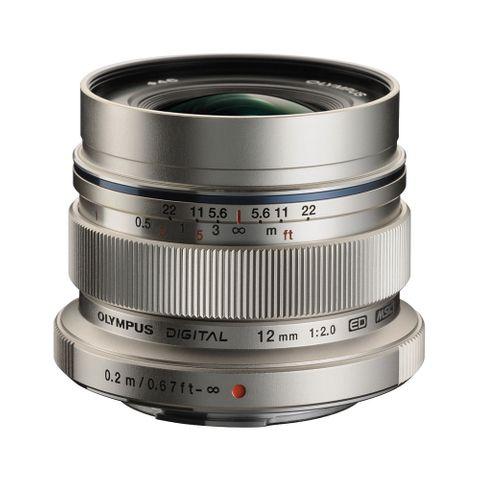 Olympus M.Zuiko 12mm F2.0 (Silver)