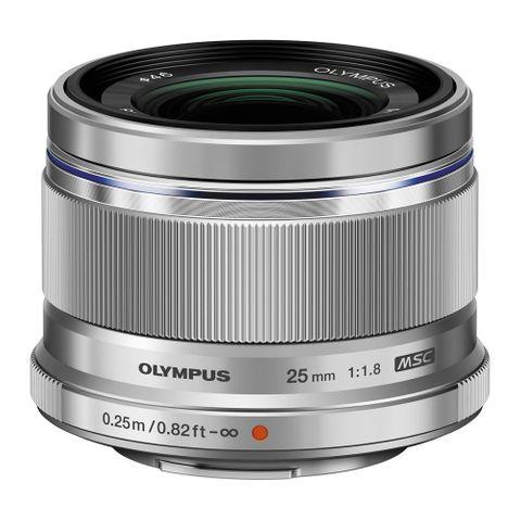 Olympus M.Zuiko 25mm F1.8 (Silver)