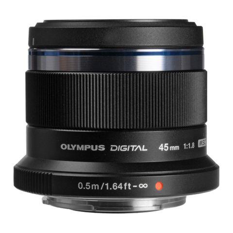 Olympus M.Zuiko 45mm F1.8 (Black)