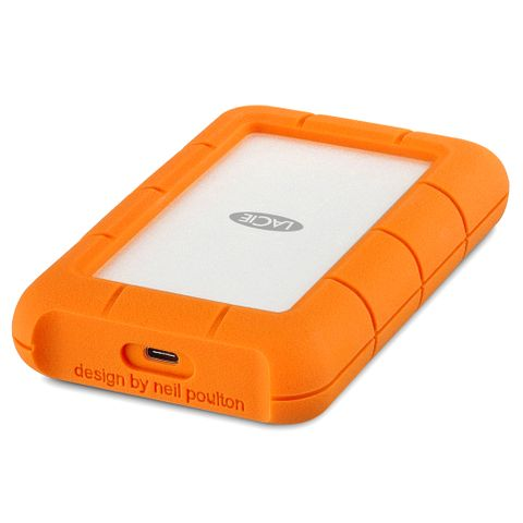 LaCie 4TB Rugged USB 3.0 Type-C Portable Drive