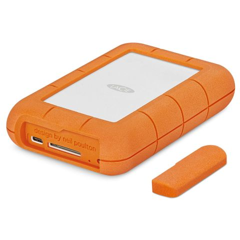 LaCie 4TB Rugged Raid USB-C Portable Drive with SD Slot
