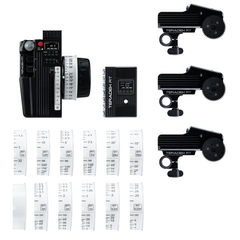 Teradek RT CTRL.3 Motor Wireless Lens Control Deluxe Kit (3-Motors)