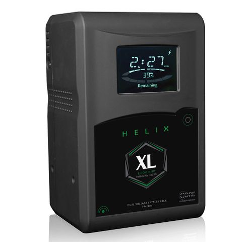 Core SWX Helix XL V-Mount Dual Voltage Battery