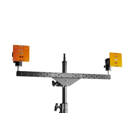 INOVATIV Dual Bar includes 2 Baby Pins & 2 Pro Monitor Mounts