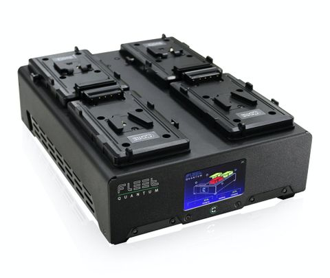 Core SWX Fleet Quantum Quad V-Mount Charger