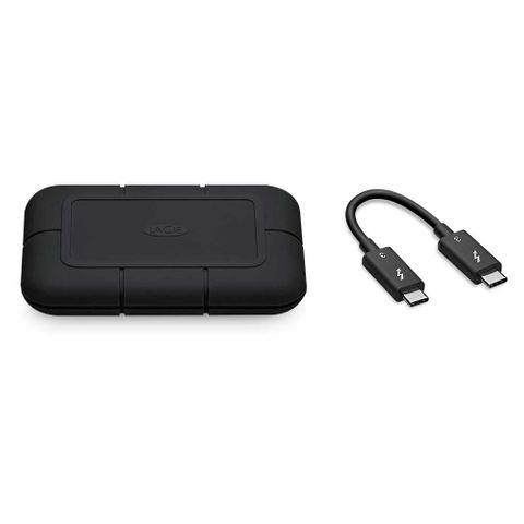 LaCie 1TB Rugged Pro SSD Thunderbolt3 Drive