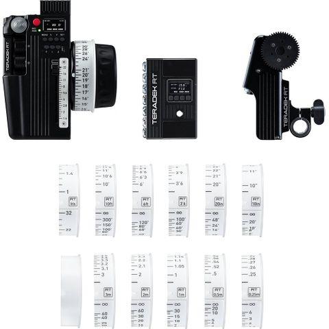 Teradek RT CTRL.3 + MDR Wireless Lens Control 3-Motor Kit