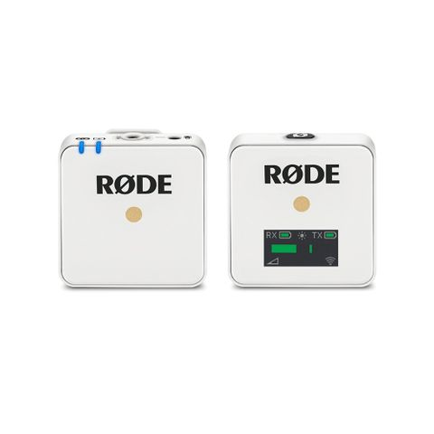 Rode Wireless GO White Compact Microphone System