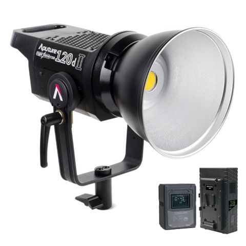 Aputure Light Storm 120DMkII With Core Neo150s + Charger