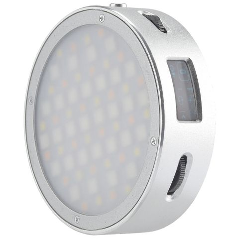 Godox R1 Round RGB Silver Led Light
