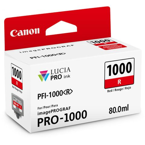 Canon PRO-1000 80ml Red Ink PFI1000R