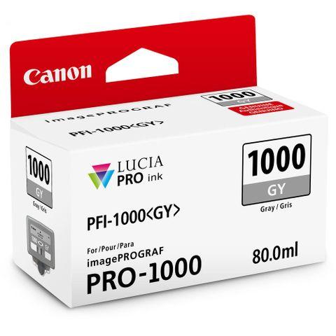 Canon PRO-1000 80ml Grey Ink PFI1000GY
