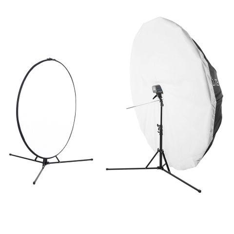 Elinchrom RX One + 180cm B/W Umbrella  & Reflector Kit