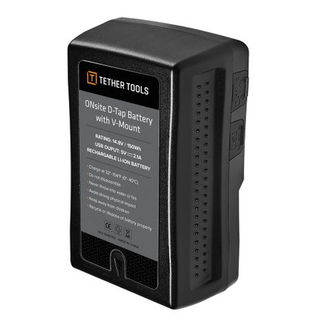 Tether Tools Onsite V-Mount Battery