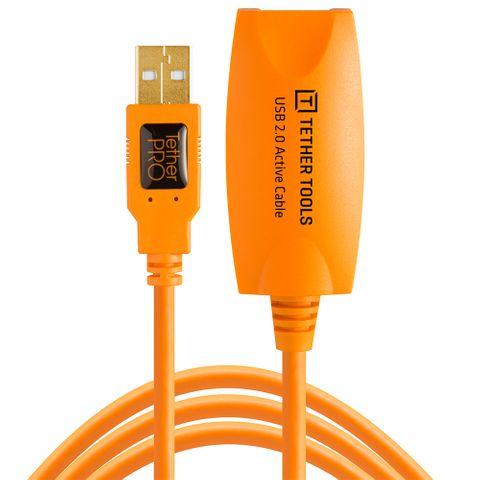 Tether Tools TetherPro USB 2 Active Extension 5m Hi-Vis Orange