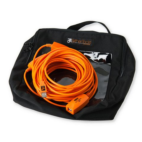 Tether Pro Cable Case - Large (10 x 10 x 4 Inch)