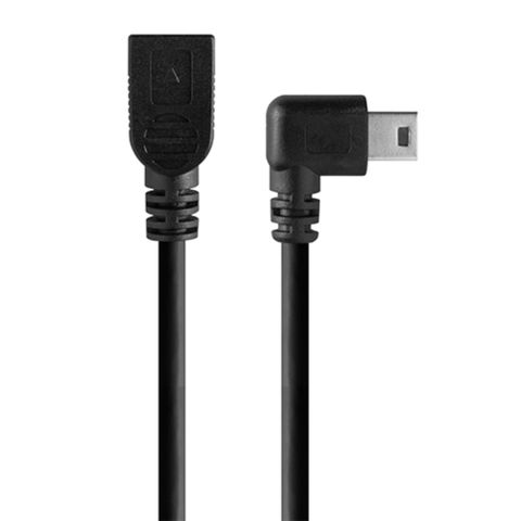 Tether Tools TetherPro USB 2 Mini-B Right Angle Adapter 30cm Black