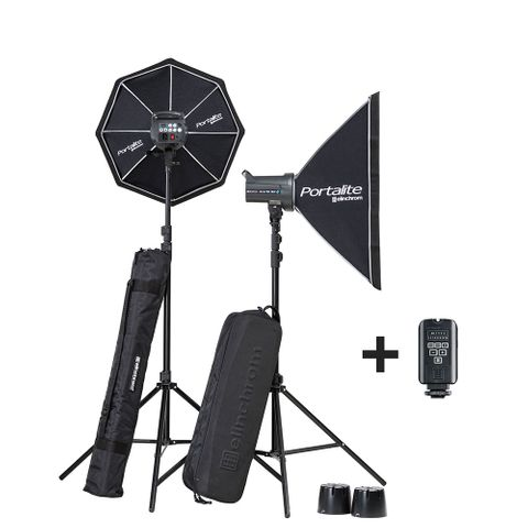 Elinchrom D-Lite RX4 Softbox To Go Set