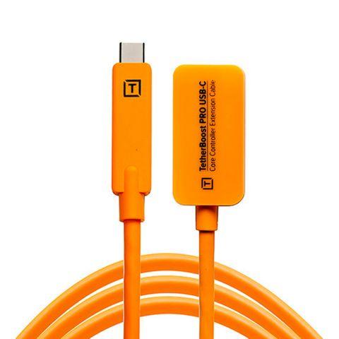 Tetherboost Pro USB-C Core Controller Extension - Hi Vis Orange