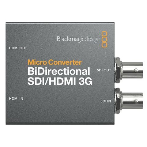 Blackmagic Design Micro Converter Bi-Directirectional SDI-HDMI 3G with PSU