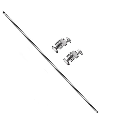 Xlite Boom Arm With 2 Grip Heads In Silver