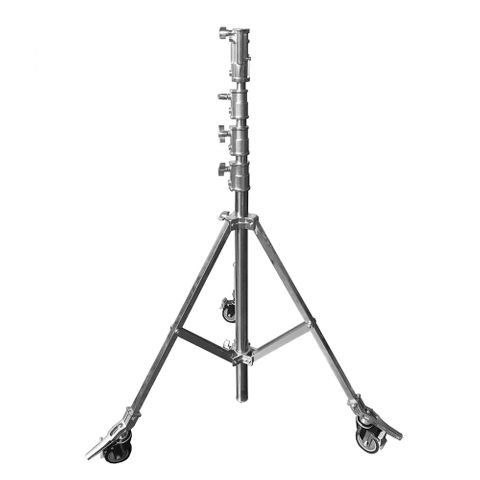 Xlite HD Stainless Steel 4.25m Stand With Wheels