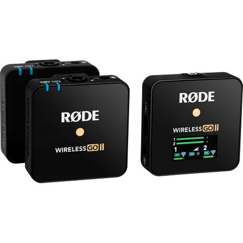 Rode Wireless Go II Compact Microphone System