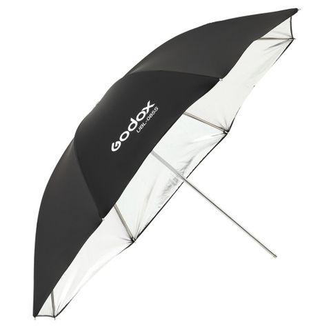 Godox Umbrella Black / Silver 85cm + Diffuser