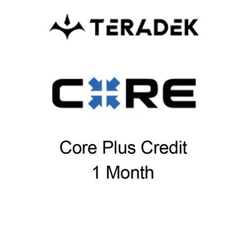 Teradek Core Cloud Plus 2.1 1 Month Credit