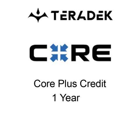 Teradek Core Cloud Plus 2.1 1 Year Credit