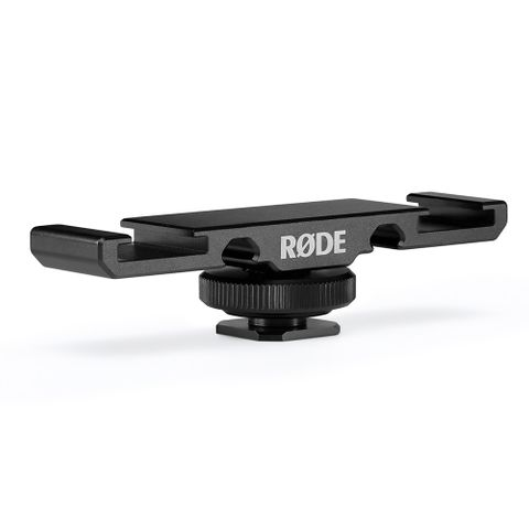 Rode DCS-1 Dual Cold Shoe Mount For Rode Go Mic