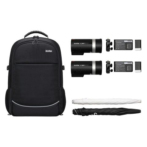 Godox AD300PRO Two Head Kit With Carry Bag