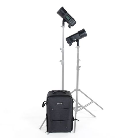 Godox AD600PRO 2 Head Kit With Roller Case