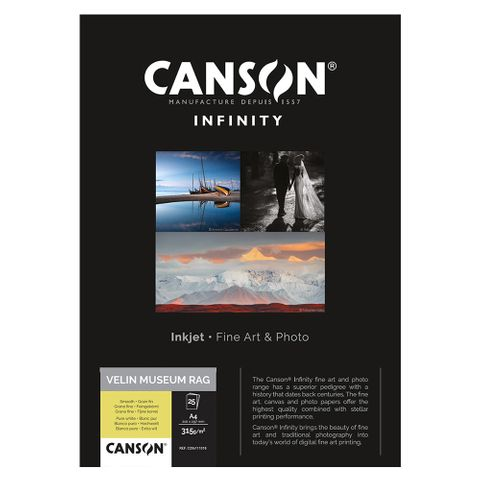 Canson Velin Museum Rag 315gsm