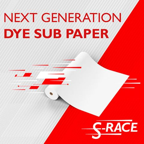 S-Race Sublimation Transfer Paper