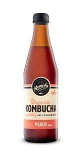KOMBUCHA PEACH 330ML*(12)