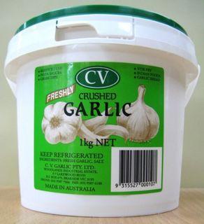 GARLIC CRUSHED 1KG (6) CV