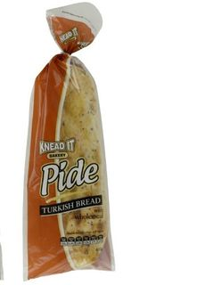 BAGGED PIDE WHOLEMEAL 430GM (10)