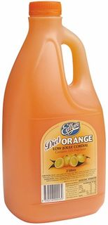 CORDIAL LOW JOULE ORANGE 2LTR (6)*EDLYN